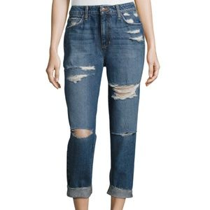 Joe's Jeans The Debbie Crop Distressed Jeans